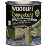 Zinsser & 1904A Coppercoat Green Wood Preservative, 1-Qt.
