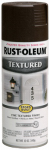 Rust-Oleum 241255 Textured Spray Paint, Dark Brown, 12-oz.