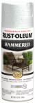 Rust-Oleum 248072 Stops Rust Spray Paint, White Hammered, 12-oz.