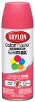 Krylon Diversified Brands K05353302 Colormaster Spray Paint, Indoor/Outdoor Use, Gloss Watermelon, 12-oz.