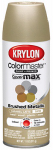 Krylon Diversified Brands K05125002 Colormaster Metallic Finish Spray Paint, Indoor Use, Carmel Latte, 11-oz.