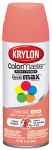 Krylon Diversified Brands K05210302 Colormaster Spray Paint, Indoor/Outdoor Use, Gloss Coral Isle, 12-oz.