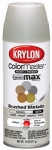 Krylon Diversified Brands K05125502 Colormaster Brushed Metallic Spray Paint, Indoor Use, Satin Nickel,11-oz.