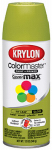 Krylon Diversified Brands K05151502 Colormaster Spray Paint, Indoor/Outdoor Use, Gloss Ivory Leaf, 12-oz.