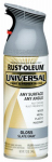 Rust-Oleum 249339 Universal Paint & Primer Spray, Universal Slate Gray, 12-oz.