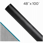 Saint Gobain Adfors FCS8489-M 48-In. x 100-Ft.  Clear Advantage Charcoal fiberglass Invisible Window Screen