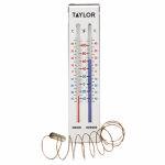 Springfield Precision Instruments 90114 Indoor/Outdoor Thermometer 9.25''