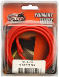 Coleman Cable 55672133 Primary Wire, Red, 10-Ga., 7-Ft.