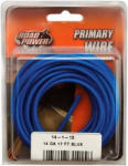 Coleman Cable 55669433 Primary Wire, Blue, 14-Ga., 17-Ft.