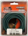 Coleman Cable 56421933 Primary Wire, Green, 14-Ga., 17-Ft.