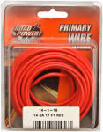 Coleman Cable 55669133 Primary Wire, Red, 14-Ga., 17-Ft.