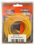 Coleman Cable 55668333 Primary Wire, Yellow, 16-Ga., 24-Ft.