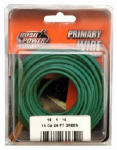 Coleman Cable 56422033 Primary Wire, Green, 16-Ga., 24-Ft.