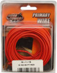 Coleman Cable 55667433 Primary Wire, Red, 18-Ga., 33-Ft.