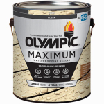 Olympic/Ppg Architectural Fin 56400A/01 Maximum Waterproofing Sealant, Exterior, Oil, Clear, 1-Gal.