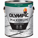 Olympic/Ppg Architectural Fin 79611A/01 1-Gallon White Tint Base Exterior Latex Max Deck/Fence/Siding Stain