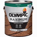 Olympic/Ppg Architectural Fin 79612A/01 Maximum Deck, Fence & Siding Stain & Sealant, Exterior, Acrylic, Tint Base 2, 1-Gal.