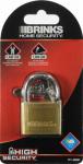 Hampton Prod Intl 171-40001 1-9/16-Inch Solid-Brass Pin Tumbler Padlock