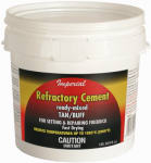 Imperial Mfg Group Usa KK0307 Sodium Silicate Firebrick Refractory Cement, 64-oz.