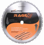 Evolution Power Tools RAGE355 Tungsten Carbide-Tipped Multi-Purpose Blade, 14-In., 36-Teeth