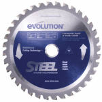 Evolution Power Tools 185BLADEST Tungsten Carbide-Tipped Steel-Cutting Blade, 7.25-In., 40-TPI