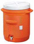 Rubbermaid 161001 11 10-Gallon Orange Water Cooler