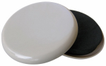 Shepherd Hdwe Prod 3955 4-Pack 3-1/2-Inch Round Mover Pad