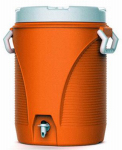 Rubbermaid 1841106 5-Gallon Orange Water Cooler