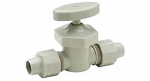 Zurn Pex QBV3750AN Global Shut Off Valve, Compression In Line, Male, 1/2 x 1/2-In.