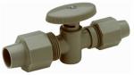 U S Brass Corp/Zurn-Qest QBV442N 1/2CTSx1/4Str StopValve
