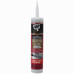 Dap 00795 3.0 Kitchen/Bath Adhesive Caulk, Clear, 9-oz.