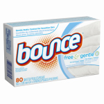 Procter & Gamble 80070 Fabric Softener Sheets, Fragrance Free, 80-Ct.