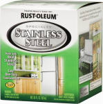 Rust-Oleum 247963 Qt. Stainless-Steel Indoor/Outdoor Paint
