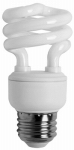 Earthtronics CF09SW4B2E/ T2 Soft White Ultra Mini CFL Bulbs, 9-Watts 4-Pk.