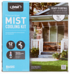 Orbit Irrigation Products 20030 Outdoor Mist Cooling System, 3/8-In. x 10-Ft.