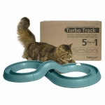 Bergan 88150 Turbo Track 5-In-1 Cat Toy