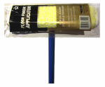 Ettore Products 33112 Oil-Based Floor Finish Applicator With Pole, Microfiber, 12-In.