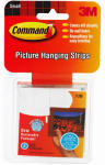 3M 17205 8-Count Small Picture Hanging Strip