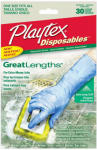 Edgewell Personal Care 06405 Disposables Great Lengths Gloves, One Size, 30-Ct.
