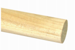 Madison Mill 436576 Poplar Dowel Rod, 0.5 x 48-In.