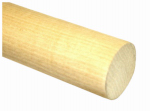 Madison Mill 436581 Poplar Dowel Rod, 1-1/8 x 48-In.