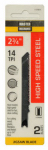Disston 117911 2-Pack 2.75-Inch 14-TPI Metal-Cutting High-Speed Steel Jigsaw Blade