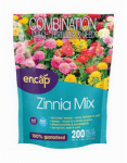 Encap 10806-6 Zinia Wildflowers Mix, Covers 200 Sq. Ft.