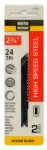 Disston 117929 2-Pack 2.75-Inch 24-TPI Metal-Cutting High-Speed Steel Jigsaw Blade
