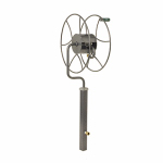 Lewis Lifetime Tools SR-360 Free Standing Swivel Reel, Holds 5/8-In. x 200-Ft. of Hose