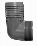 "Genova Products 352820 2"" InsxMIP Comb Elbow"