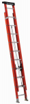 Louisville Ladder L-3022-20PT 20-Ft. Extension Ladder, Fiberglass, Type 1A, 300-Lb. Load Capacity