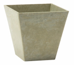 Novelty Mfg 35121 Square Ella Planter, Sage, 12-In.