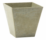 Novelty Mfg 35141 Square Ella Planter, Sage, 14-In.
