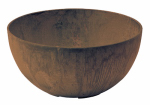 Novelty Mfg 31107 Napa Bowl Planter, Teak, 10-In.